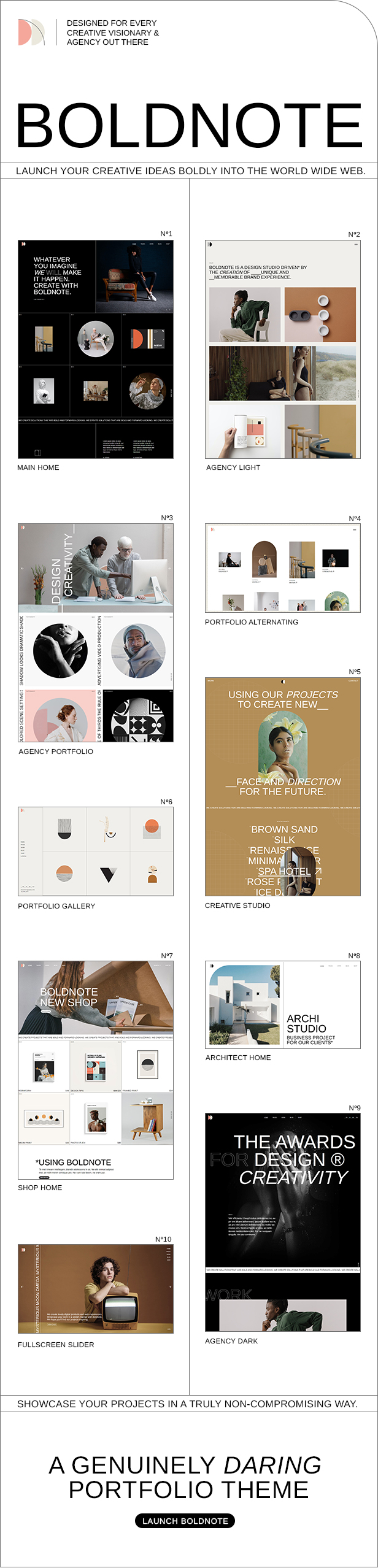 Boldnote - Portfolio and Agency Theme - 3